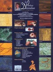 La peinture décorative - 4ème de couverture - Format classique