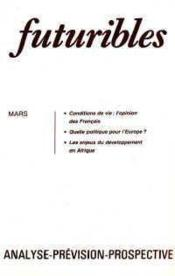 Futuribles No86 Mars 1985 - Couverture - Format classique