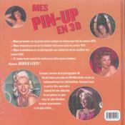 Mes pin-up en 3d - 4ème de couverture - Format classique