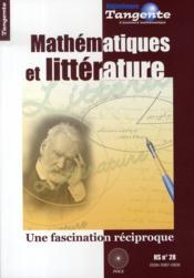 Mathématiques et littérature ; une fascination réciproque - Couverture - Format classique