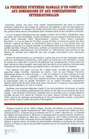 Guerres Indoch Bataille 2 - 4ème de couverture - Format classique