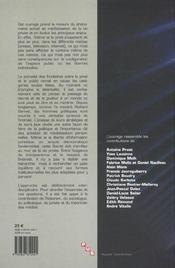 La Vie Privee A L'Heure Des Medias - 4ème de couverture - Format classique