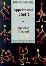 Appelez-Moi Chef ! - Couverture - Format classique
