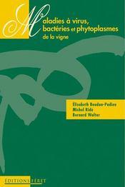 Maladies à virus, bactéries et phytoplasmes de la vigne - Intérieur - Format classique
