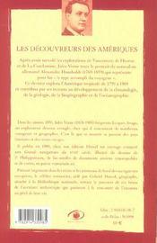 Les découvreurs des Amériques - 4ème de couverture - Format classique