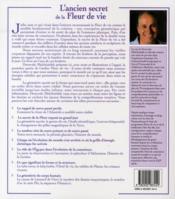 L'ancien secret de la fleur de vie t.1 - 4ème de couverture - Format classique