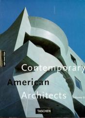 Architecture Contemporaine Americaine - Couverture - Format classique