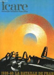 Icare N°94 - 1939-40 / La Bataille De France Volume Xii: L'Aviation D'Assaut La 54° Escadre - Couverture - Format classique