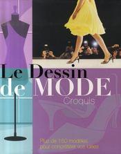 Le dessin de mode ; croquis - Intérieur - Format classique