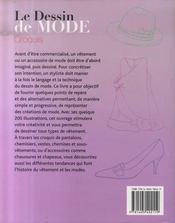 Le dessin de mode ; croquis - 4ème de couverture - Format classique