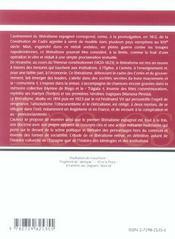 La crise de l'ancien régime et l'avènement du libéralisme en espagne (1808-1833) - 4ème de couverture - Format classique