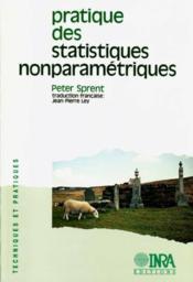 Pratique Des Statistiques Non Parametriques - Couverture - Format classique