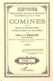 Histoire De Comines (3 Vol) - Couverture - Format classique