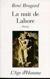 La Nuit De Lahore - Couverture - Format classique