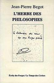 L'Herbe Des Philosophes - Intérieur - Format classique