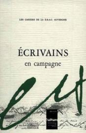 Ecrivains En Campagne - Couverture - Format classique