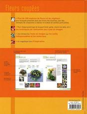 Fleurs coupées ; feuillages, fruits et rameaux décoratifs - 4ème de couverture - Format classique