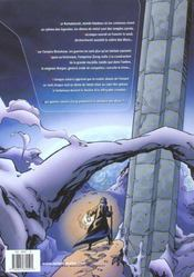 Arkezone T.1 ; Le Dome - 4ème de couverture - Format classique