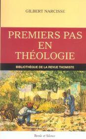 Premiers Pas En Theologie - Intérieur - Format classique