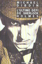 L'ultime défi de Sherlock Holmes - Intérieur - Format classique