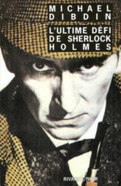 L'ultime défi de Sherlock Holmes - Couverture - Format classique