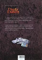 Dusty Dawn t.1 ; l'héritage maléfique ; 1ère partie - 4ème de couverture - Format classique