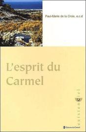 L'esprit du carmel - Couverture - Format classique