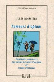 Fumeurs D'Opium, Comediens Ambulants - Couverture - Format classique