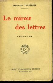 Le Miroir Des Lettres. Tome 8 . - Couverture - Format classique