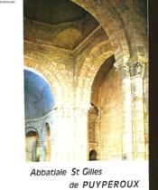 Abbatiale St Gilles De Puyperoux - Couverture - Format classique