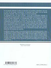 Lumières et illustracion en espagne - 4ème de couverture - Format classique