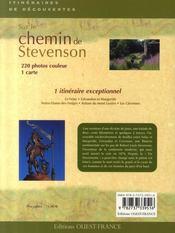 Sur les chemins de Stevenson - 4ème de couverture - Format classique