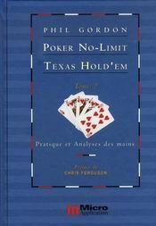 Poker no-limit texas hold'em t.2 ; pratique et analyses des mains - Intérieur - Format classique