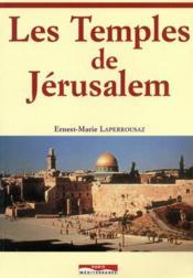 Les temples de Jérusalem - Couverture - Format classique