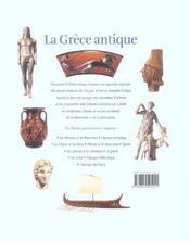 La grece antique - 4ème de couverture - Format classique