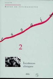 Essaim 02 - Incidences Cliniques - Couverture - Format classique
