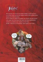 Krän le barbare t.4 ; le grand tournoi - 4ème de couverture - Format classique