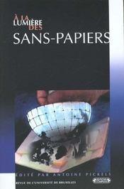 A la lumiere des sans-papiers - Intérieur - Format classique