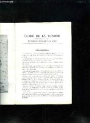 Guide De La Tunisie. - Couverture - Format classique