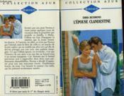 L'Epouse Clandestine - Secret Wedding - Couverture - Format classique