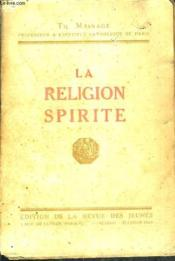 La Religion Spirite. - Couverture - Format classique