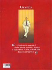 Les maitres de l'orge t.7 ; frank 1997 - 4ème de couverture - Format classique