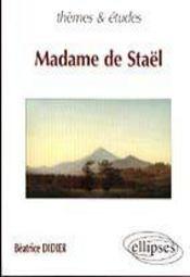 Madame De Stael - Intérieur - Format classique
