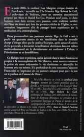 Le voyage interieur ; dialogue sur la priere et la meditation - 4ème de couverture - Format classique