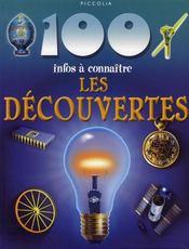 100 Infos A Connaitre ; Les Découvertes - Intérieur - Format classique