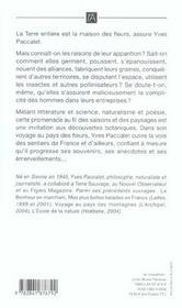 Voyage Au Pays Des Fleurs - 4ème de couverture - Format classique