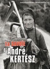 La Savoie d'André Kertesz - Couverture - Format classique