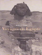Voyages en egypte - 4ème de couverture - Format classique