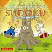 Coralie joue au sudoku à la grande école - Intérieur - Format classique