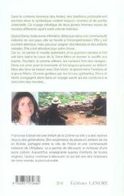 Alliance Sacree Des Andes (L') - 4ème de couverture - Format classique